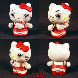 Hello Evil Kitty 2 Whore by Undead-Art
