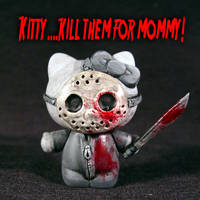 Hello Kitty Friday 13th Jason
