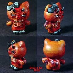 Hello Evil Kitty 4 Demon by Undead-Art