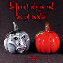 Rotten Pumpkin vampire buffy