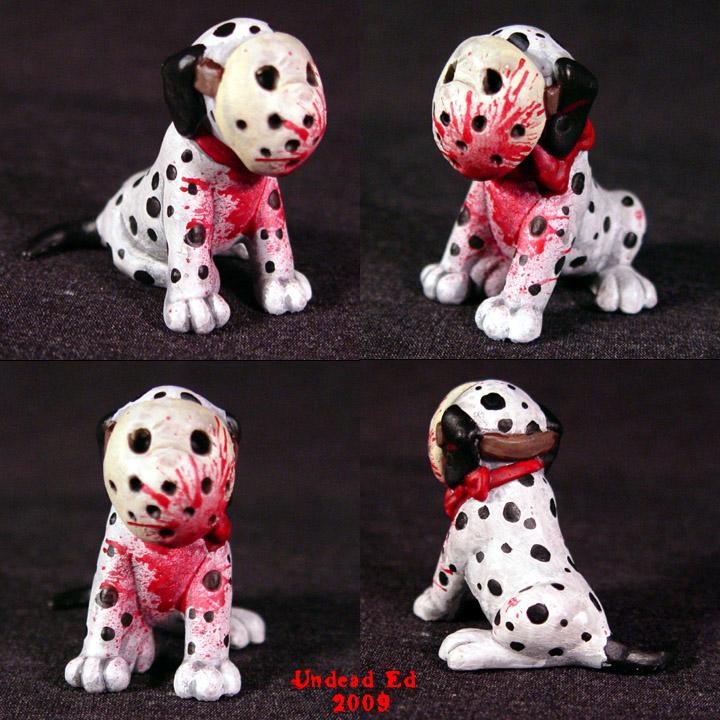 Jason Voorhees dog MACHETE by Undead-Art