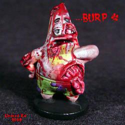 Undead Patrick Star  zombie
