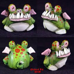 Chibi Dragon toy Ooak