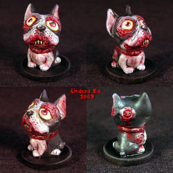 Zombie French Bulldog Ooak