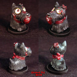Zombie Scottish Terrier ooak