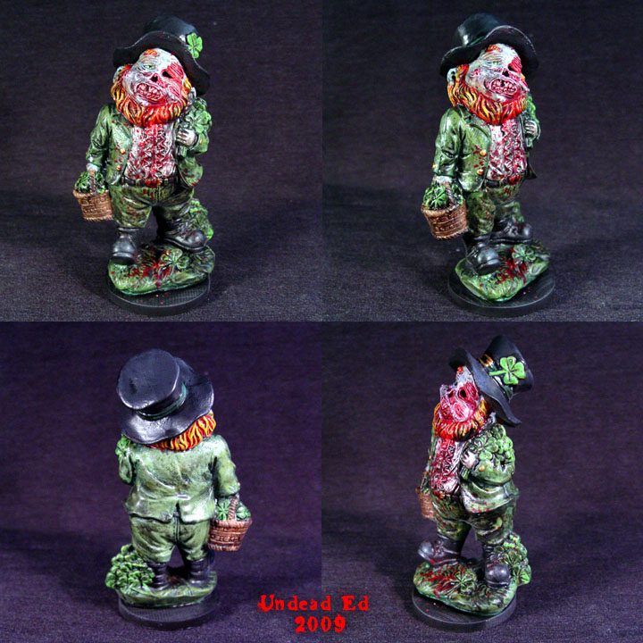 Zombie Leprechaun Ooak by Undead-Art