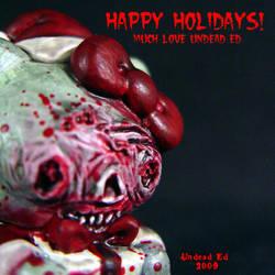 Hello Kitty HAPPY HOLIDAYS by Undead-Art