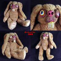 Albert The Rabbit OOak Plush