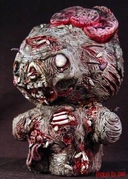Zombie Hello Kitty Piggy Bank