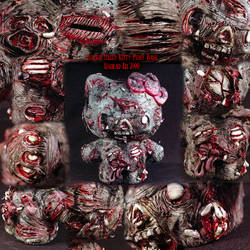 Zombie Hello Kitty Piggy Bank3 by Undead-Art