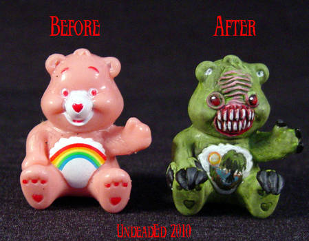 Killer Care Bear Swamp compare by Undead-Art