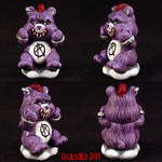 Killer Care Bears Punk Bear