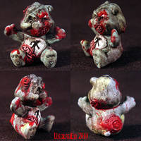 Killer Care Bear Zombie Bear by Undead-Art