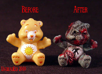 Killer Care Bear Zombie Comp by Undead-Art