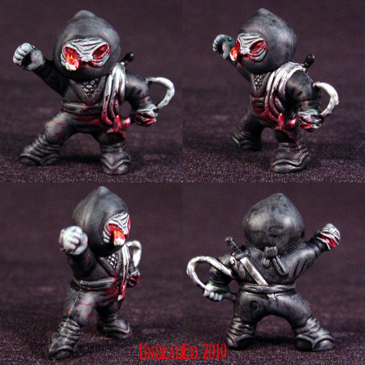 Zombie Ninja grappling hook 5 by Undead-Art
