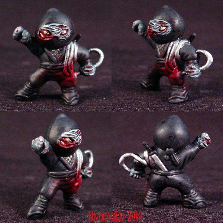 Zombie Ninja grappling hook 6 by Undead-Art