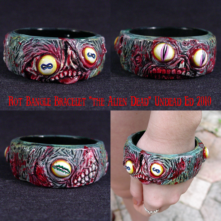 Rot Bangle Bracelet Alien Dead by Undead-Art