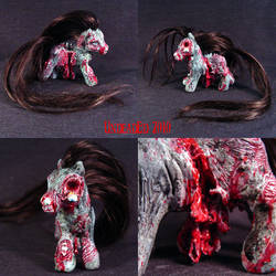 My Demon Pony Shaun Zombie MLP