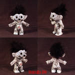 Death Troll ooak Grim Reaper by Undead-Art