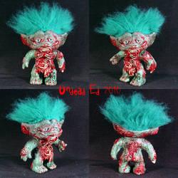 Larry The Zombie Troll ooak