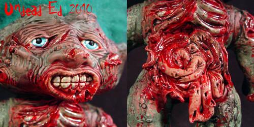 Larry The Zombie Troll ooak  2 by Undead-Art