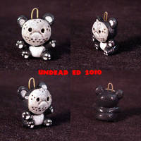 Friday the 13th Bear Charm by Undead-Art