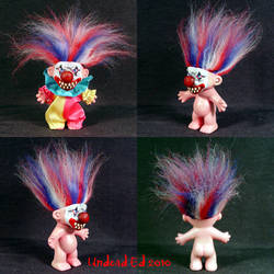 Giggles The Crazy Clown Troll by Undead-Art