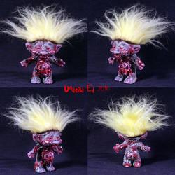 Marty The Zombie Troll ooak by Undead-Art