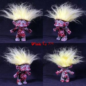 Marty The Zombie Troll ooak