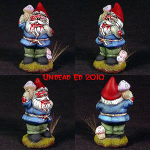 Berenmil The Zombie Gnome ooak