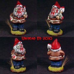 Punwyn The Zombie Gnome ooak by Undead-Art