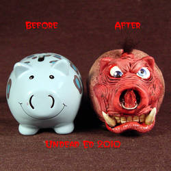 Rot Tusk Piggy Bank small comp by Undead-Art