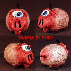 Rot Cyclops Piggy Bank by Undead-Art