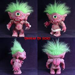 Lubbar The Cyclops Troll ooak by Undead-Art