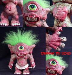 Lubbar Cyclops Troll details by Undead-Art