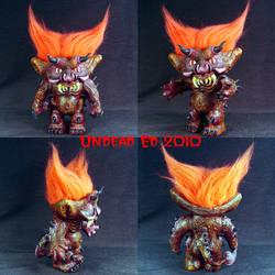 Malphas The Imp Troll ooak by Undead-Art