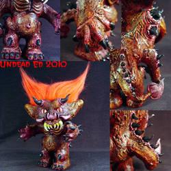 Malphas The Imp Troll details by Undead-Art