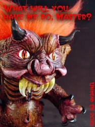 Malphas The Imp Troll Tagline by Undead-Art