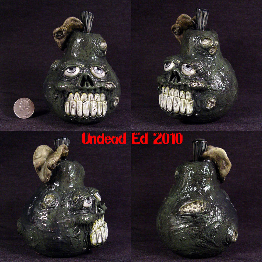 Rotten Fruit Pear Porcelain by Undead-Art