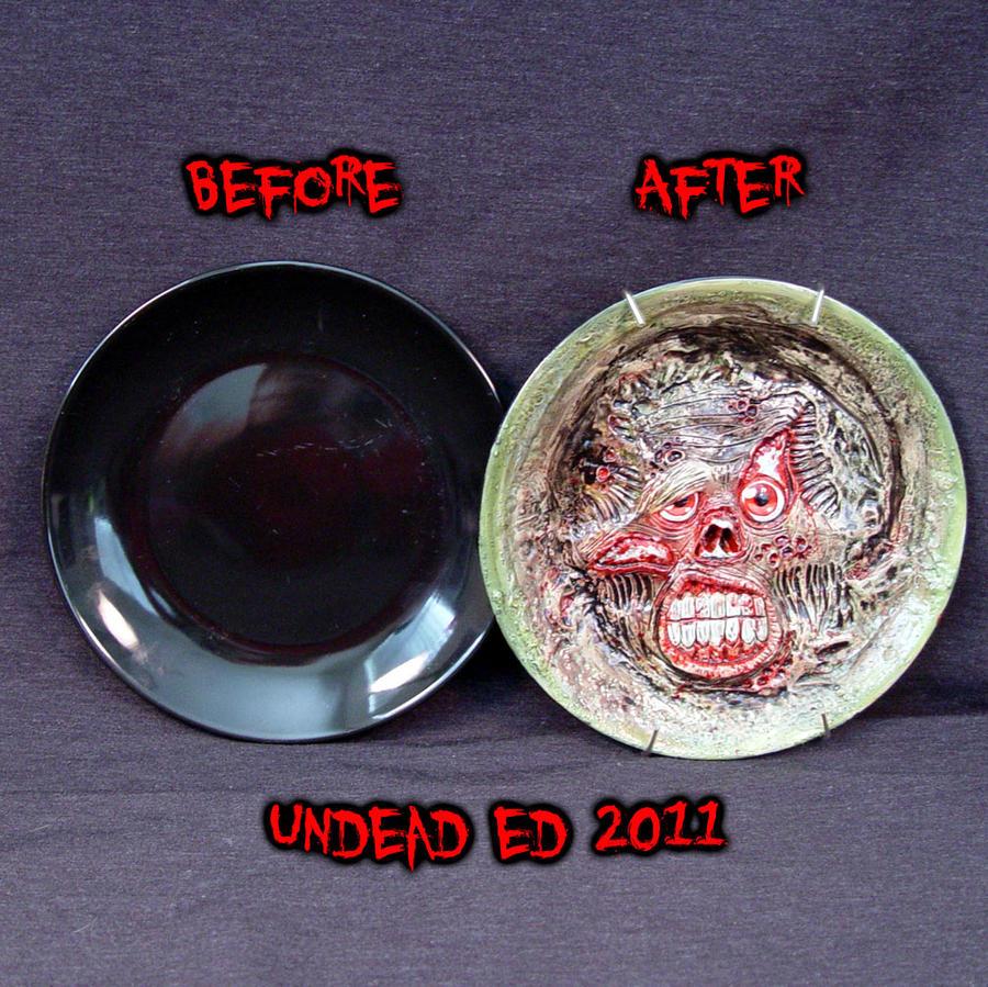 Zombie Collectors plate compar by Undead-Art