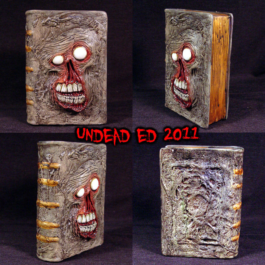 evil dead 2 replica 1/1 book of the dead necronomicon