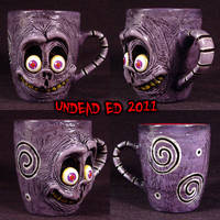 Tim Burton FREAK GHOST MUG by Undead-Art
