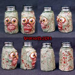 Zombie Sammy and Seymour Salt by Undead-Art