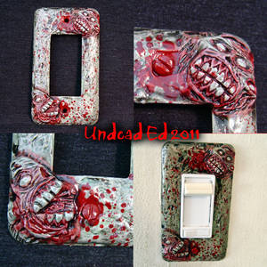 Zombie Deluxe Switch Plate
