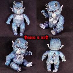 Rot Tot Demon Drakamon ooak by Undead-Art