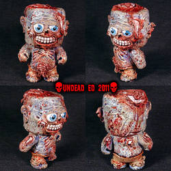 Zombie Dunny Round head Figure by Undead-Art