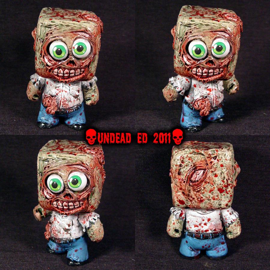 Zombie Dunny Square head Figur