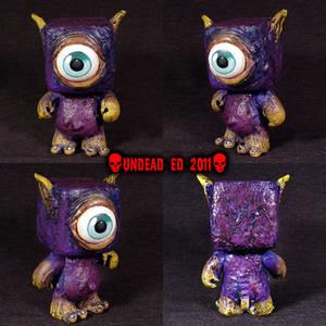 Purple Monster Gremlin OOAK on