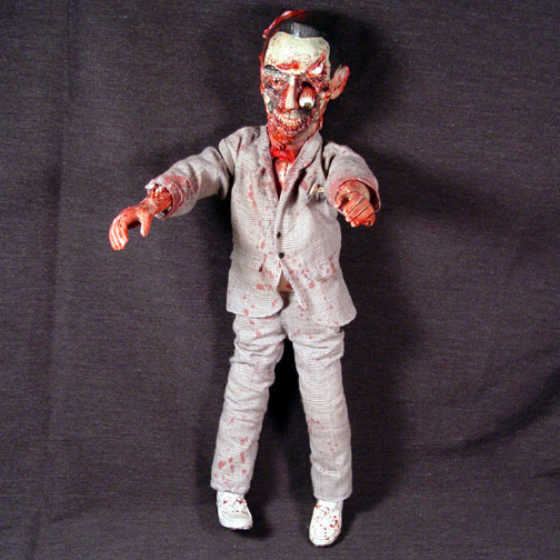 Zombie Pee Wee Herman by Undead-Art