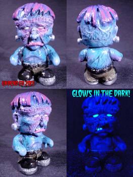Glow In The Dark Frankenstein Blank Munny